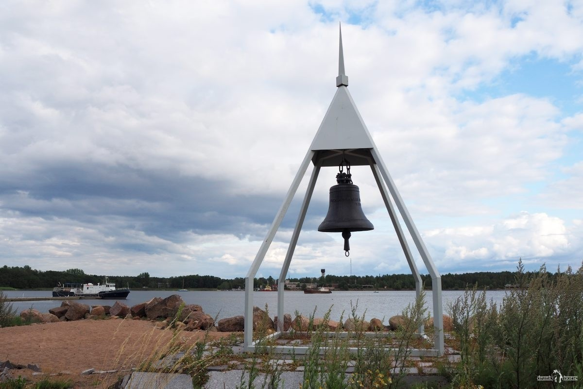 Приморск. Набережная у Финского залива.Ленинградская область