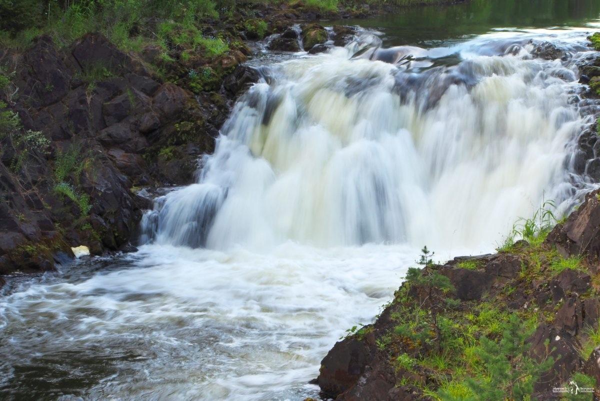 Путешествие на водопад Кивач. Карелия. Россия