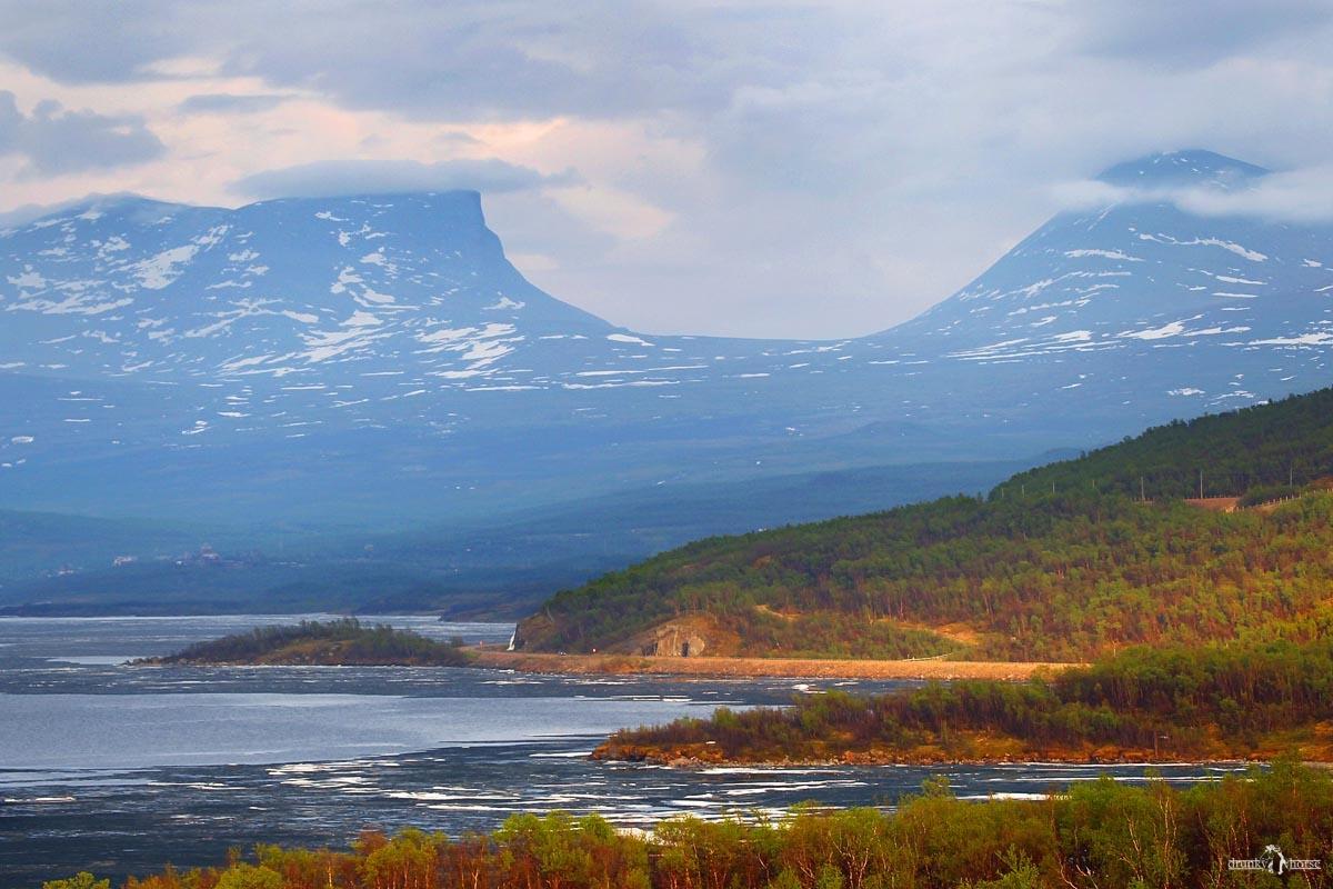 Лапландия. Горные цепи национального парка Абиску. На своём авто в Швецию