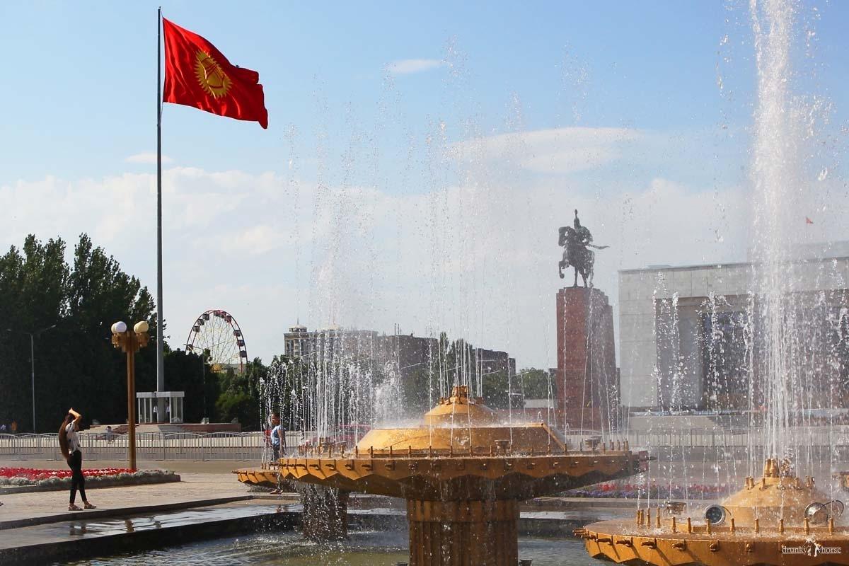 Самостоятельно в Киргизию. Бишкек - столица Киргизии