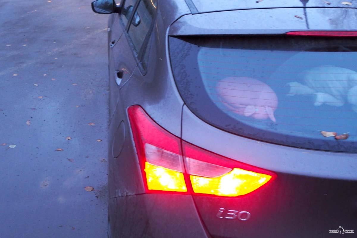 Задняя левая фара автомобиля Hyundai i 30